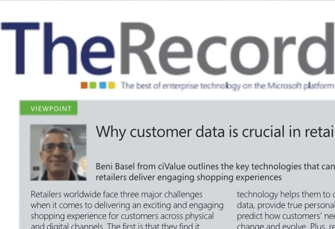 Why customer data is crucial in retail