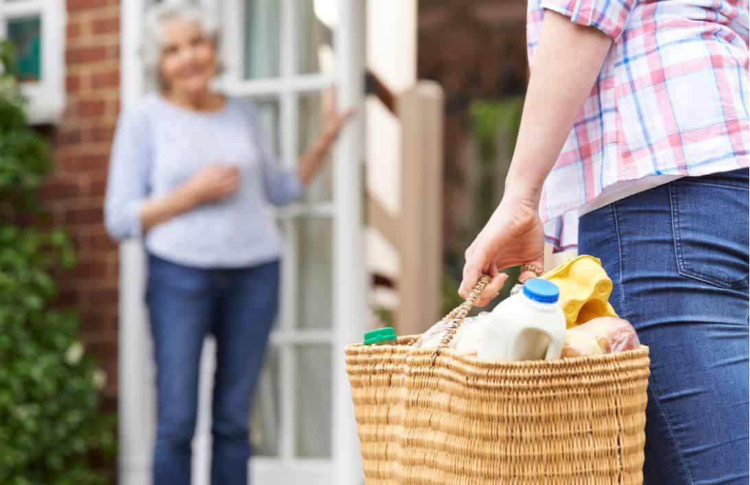 Grocery Delivery to a Senior Lady